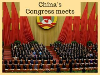 China's Congress meets