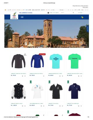 Buy Lawrence School T Shirts Online - Design Your Own
