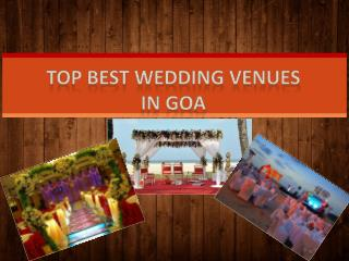 Top Best Wedding Venues  in Goa - Hard Rock Hotels