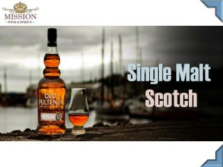 Buy Single Malt Scotch - Mission Wine & Spirits