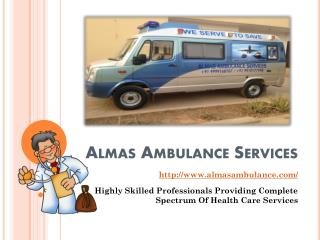 Almas Ambulance Services - Emergency Medical Assistance