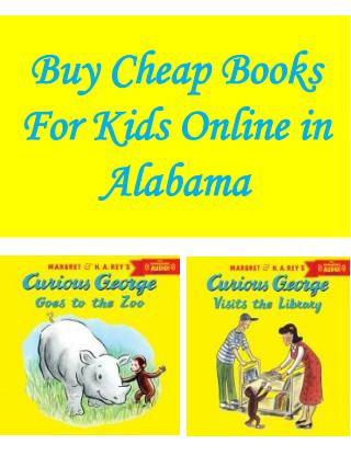 Buy Cheap Books For Kids Online in Alabama