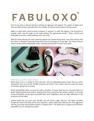 Picking the Best Foldable Flats for Ballet Practice