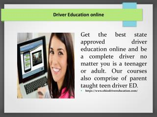 Driver Education online