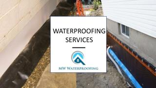 MW Water Proofing Pros