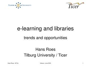 e-learning and libraries