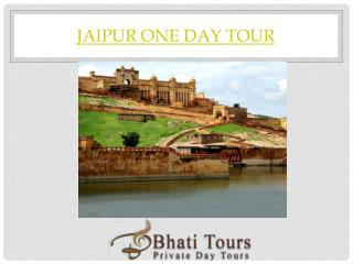 JAIPUR CITY ONE DAY TOUR