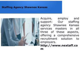 Staffing Agency Shawnee Kansas