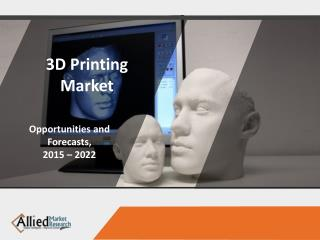 3D Printing Market : EMERGING TRENDS, SIZE, SHARE AND GROWTH ANALYSIS- 2020