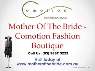 Mother of the Groom Checklist | Comotion Fashion Boutique