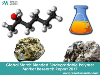 Starch Blended Biodegradable Polymer Global Market Trend Analysis and Overview