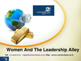 Women and the Leadership Alley