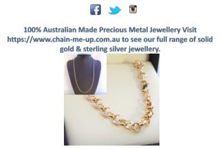 Excellent Solid Gold Necklaces