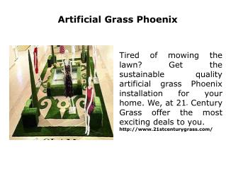 Artificial Grass Phoenix