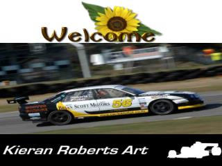 Motorsport paintings by Kieran Roberts for sale