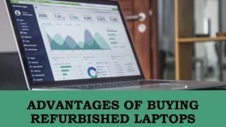 Advantages of Buying Refurbished Laptops