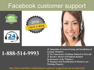 How could you get the best Facebook Customer Support 1-888-514-9993  ?