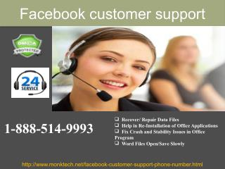 What is the need of Facebook Customer Support 1-888-514-9993  team?