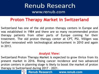 Proton Therapy Market in Switzerland