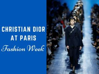 Christian Dior at Paris Fashion Week