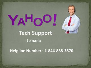 How Yahoo Support Canada can help in Recovering Hacked Account