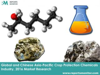 Asia-Pacific Crop Protection Chemicals Industry, Market Trend and Forecast