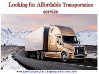 Looking for Affordable Transportation service