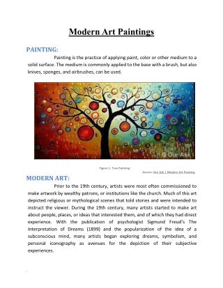 Modern Art Paintings eBook