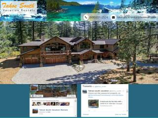 South Lake Tahoe  vacation rentals