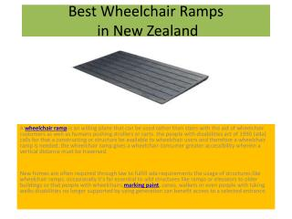 Best Wheelchair Ramps in New Zealand