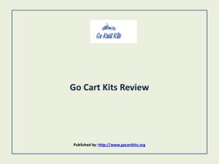 Go Cart Kits Review