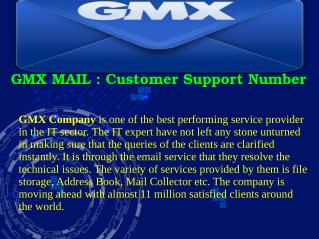 GMX MAIL : Customer Support Number
