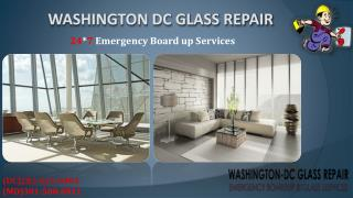 Emergency Glass Repair DC | Call (202) 621-0304