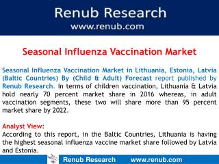 Seasonal Influenza Vaccination Market in Baltic Countries