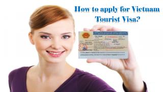 How to apply for Vietnam Tourist Visa?