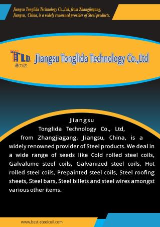 Jiangsu Tonglida Technology Co.Ltd. Jiangsu Province China