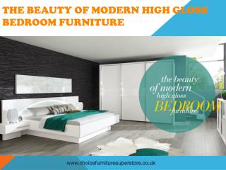 The Beauty Of modern High Gloss Bedroom furniture