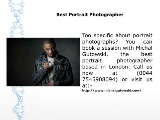 Best Portrait Photographer