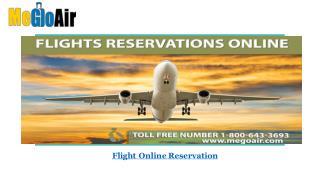 Flight Reservation Online - MeGoAir.com