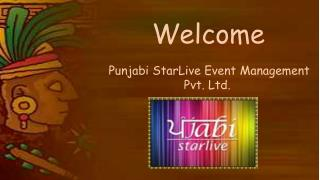 Punjabi Starlive- Best Event management Company In Chandigarh