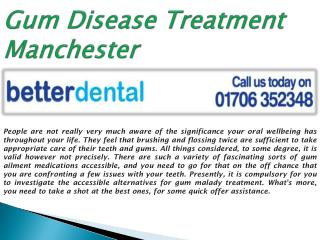 Find Your Local Gum Disease Treatment in Manchester