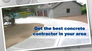 Get the best concrete contractor in your area