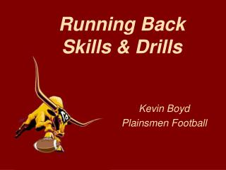 Running Back Skills & Drills