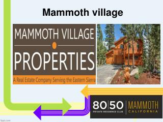 Mammoth Condo  Or Cabin? - Choosing the Best Place to Stay