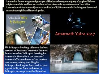 Amarnath helicopter booking, Amarnath helicopter ticket, Amarnath yatra registration
