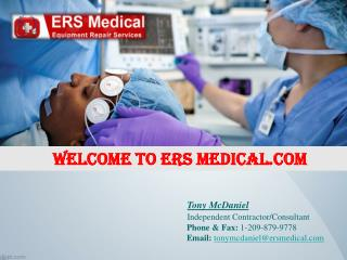 Employ Trained Professionals for Medical Equipment Servicing