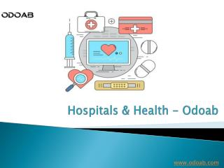 Odoab | Provides Online Free Listing for your Hospitals in India
