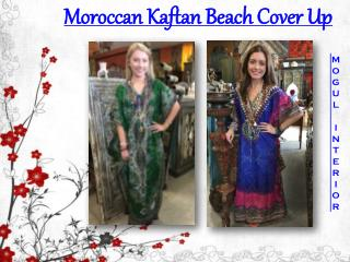 Moroccan Kaftan Beach Cover Up
