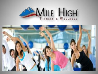 Corporate wellness program- Mile High Fitness & Wellness