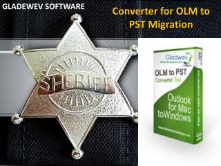 OLM to PST converter free full version